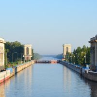 Второй Шлюз канала имени Москвы, Темпы