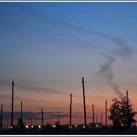 Evening on the Radio field, Томилино