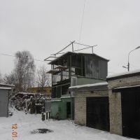 голубятня зимой, Томилино