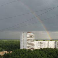 2006_06_30 Rainbow over Troitsk, Троицк