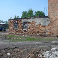 Пожарная часть. Советская кладка. The Firemen base. A Soviet brickwork, Туголесский Бор