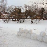 зимним пасмурным днем, Удельная