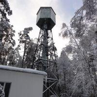 Водонапорная башня в поселке Сосны, Успенское