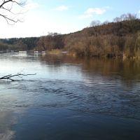 Река Москва весной, Успенское