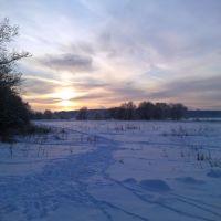 Зима, Успенское
