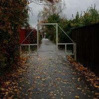 Ворота с проездом для велосипеда, Успенское