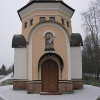 Часовенка на новосходненском кладбище. Ноябрь 2009., Фирсановка