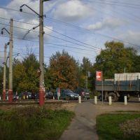 Железнодорожный переезд в Фирсановке, Фирсановка