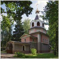 Фирсановка. Церковь Георгия Победоносца. 08.2013., Фирсановка