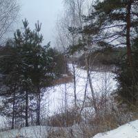 Зимний берег., Фосфоритный