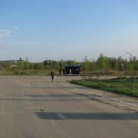 Конечная остановка 24-го автобуса (Воскресенск - Фосфоритный), Фосфоритный