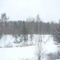Подмосковная зима., Фосфоритный