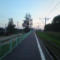 """ж/д платформа """"Рудниковская""""., Фосфоритный"""