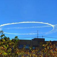 Круг над Фрязино. HDRI. 09.10.2010г., Фрязино