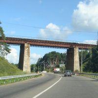 Railway bridge on the route Moscow-Yaroslavl, Хотьково