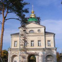 Надвратная церковь Рождества Иоанна Предтечи, Хотьково
