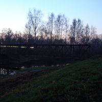 Bridge on kliazma, Черкизово