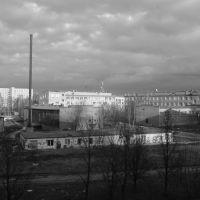 вид из окна моей комнаты, Черкизово