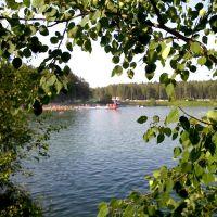 Черноголовка, оз. Южное 27 июня 2010, 33 °C