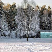 зима в ЧГ, Черноголовка