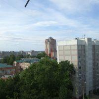 вид с окна, Чехов