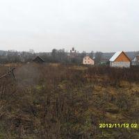 Вид на Церковь Михаила Архангела (Шарапово). м, Шарапово