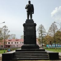 Шатура. Ленин., Шатура