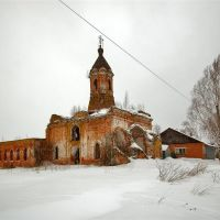 Церковь Николая Чудотворца 1540-е, Шаховская