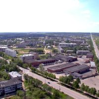 фото Шаховская с вышки(восточная окраина посёлка), Шаховская
