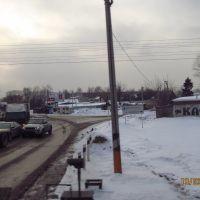 Railroad crossing, Шереметьевский