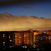 вид на москву 1 января, Щелково