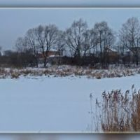 Клязьма зимой, Щелково