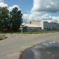 Здание бывшего вокзала узкоколейки, Электрогорск