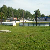 Зимой каток, летом спортплощадка, Электрогорск