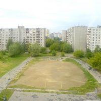 Панорама двора, Электросталь