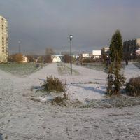 First snow, Электросталь