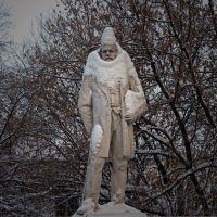 памятник Второву, основателю города., Электросталь