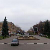 Электросталь. Панорама проспекта Ленина, Электросталь