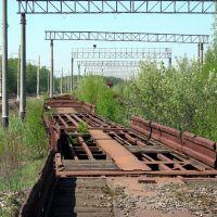 Старые рельсы и вагоны-1 (г. Электроугли Московской области), Электроугли