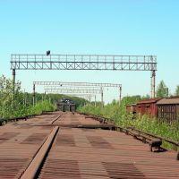 Старые рельсы и вагоны-4 (г. Электроугли Московской области), Электроугли