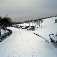 Зимняя послеобеденная прогулка / Winter walk after lunch, Байконур