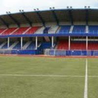 Краснознаменский стадион Заря, панорама, Краснознаменск