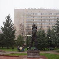Памятник Г.С. Титову, Краснознаменск