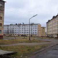 Zaozersk (Zapadnaya Litsa), Center, Заозерск
