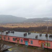 From hospital windows, Заозерск