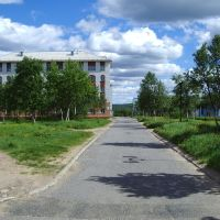 Здание администрации города, Заозерск