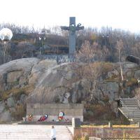 """Памятник АПЛ """"Комсомолец"""", Заозерск"""