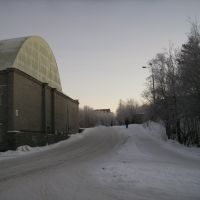Спорткомплекс в Академгородке (Sport centre in Science-Town), Апатиты
