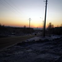 sunset, Апатиты