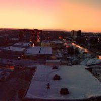 Вечерний город, Апатиты